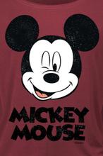 Mickey Mouse - Twinkle -Langermet skjorte - rød
