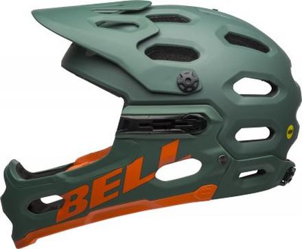 BELL SUPER 3R MIPS Mat Dark Green/Orange, M