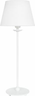 Konsthantverk Tyringe Lampfot UNO Vit (Höjd: Låg 390mm)
