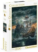 Palapeli 1500 palaa The Pirate Ship