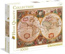 Palapeli 1000 palaa Old Map