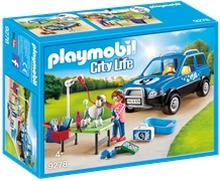 9278 Playmobil Flyttbar hundesalong