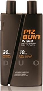 Piz Buin In Sun Sun Lotions Spf 10/20 Duo 300 ml