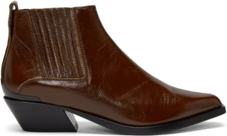 rag and bone Brown Leather Westin Boots
