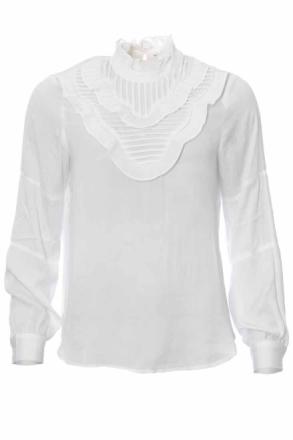 Rue de Femme Titta Blouse White Blus