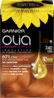 Garnier Olia Hårfärg 7.4 Intense Copper