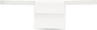 Jil Sander White Mini Belt Pouch