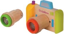 Eichhorn Kamera I Træ Med Kaleidoscope 3 Dele