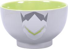 Overwatch - Genji -Dyp tallerken - grå, hvit, hvitt
