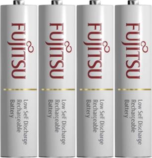 Fujitsu Ready-to-use HR03 Laddbart batteri R03 (AAA) NiMH 750 mAh 1.2 V 4 st