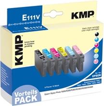 KMP E111V - Epson T0807 Multipack - 1608.0050