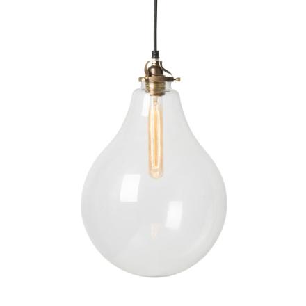 Droppe Large Klar Loftlampe - Lampan