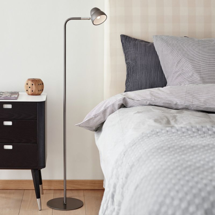 Fico Grafit/Grå LED Gulvlampe - Lampan