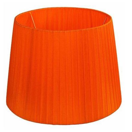 Skærm Organza 30 cm Orange - Lampan