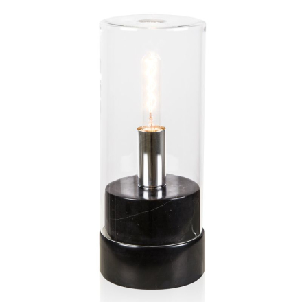 Marmi High Sort Marmor Bordlampe - Lampan