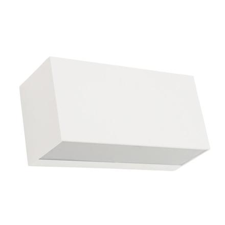 Asker Hvid Op/Ned Ip54 Væglampe - Lampan
