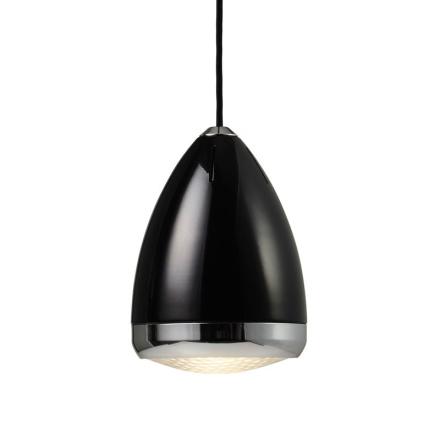 Lampetta Sort 16 cm Loftlampe - Lampan