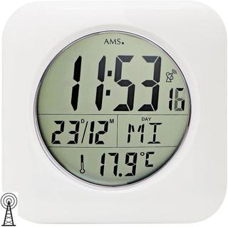 AMS 5930 vägg klocka bord klockan badrum klockradio digital vit vat...