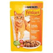 Friskies - Karma dla kota w sosie z kurczakiem, kaczką i marc...