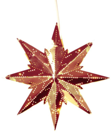 Stjerne Mini Kobber 25 cm - Lampan
