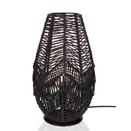 Missy Sort Bordlampe - Lampan