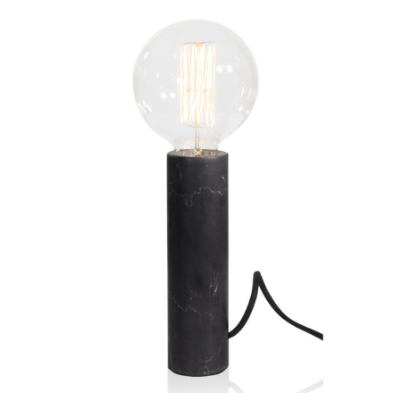 Marble XL Sort Bordlampe - Lampan