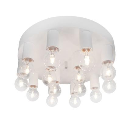 Facett Hvid Plafond - Lampan