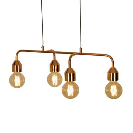 Flynn Kobber 4X60w Loftlampe - Lampan