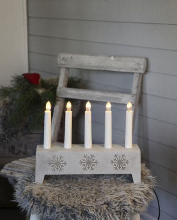 Snowflake Beton Lysestage - Lampan