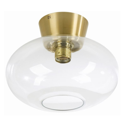 Bullo Messing/Klar 27 cm Ip21 Plafond - Lampan