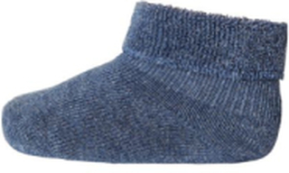 MP - Sokker i bomull med frotté kant , denim