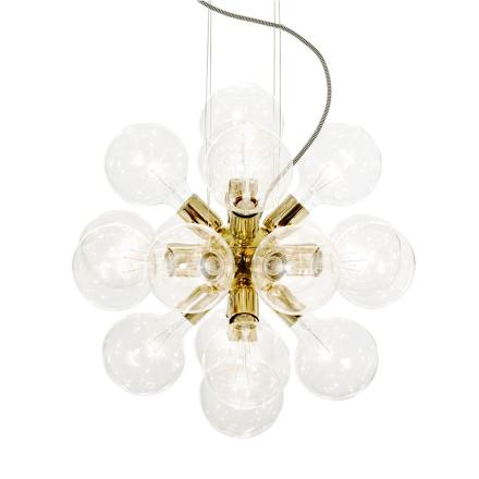 Krebs Lux 494 Messing Loftlampe - Lampan