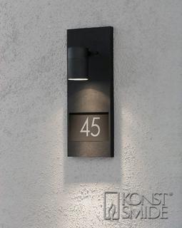 Modena Svart Husnummer