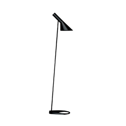 Aj Sort Gulvlæselampe - Lampan