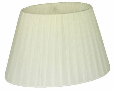 Skærm Organza 22 cm Hvid - Lampan