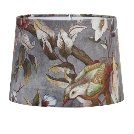 Sofia Pale Grey 40 cm Lampeskærm - Lampan