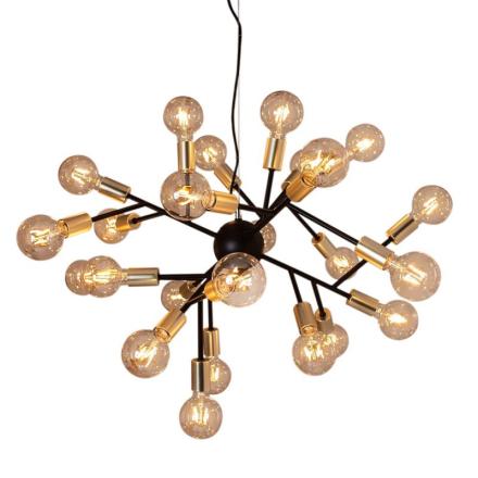 Hero Sort Loftlampe - Lampan
