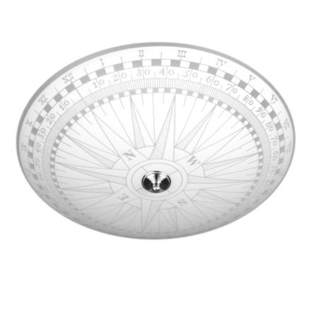 Kompass 50 cm Plafond - Lampan