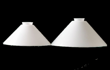 Skomagerskærm 250 mm Opal - Lampan