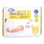Auchan - Baby Confort + New born rozmiar 1 ( 2 - 5 kg)