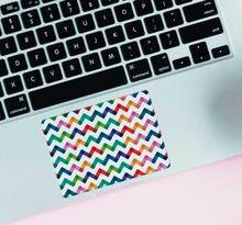 Gepersonaliseerde stickers geometrische vormen zigzag streepjes