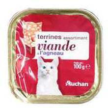 Auchan - Karma dla kota pasztet z jagnięciną