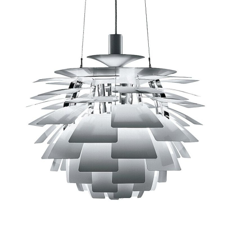 Ph Artichoke Rustfri Stål 48cm Loftlampe - Lampan