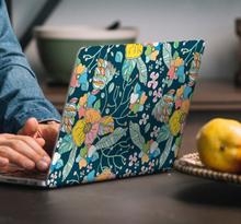 Stickers voor laptop lente bloemen