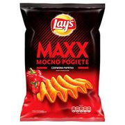 Lays - Maxx Chipsy ziemniaczane o smaku papryki 210g