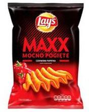 Lay's - Maxx Chipsy ziemniaczane o smaku papryki 210g