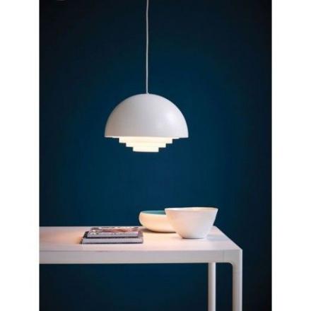 Motown Hvid 36 cm Loftlampe - Lampan