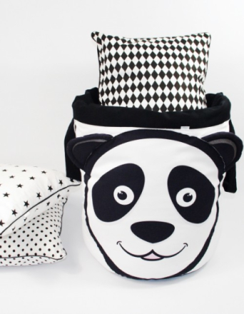 Kosz na zabawki z serii panda