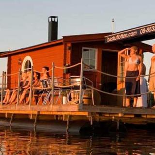 Bastuflotte - upp till 12 personer