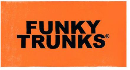 Funky Trunks Towel Pyyhe , oranssi 2019 Matkapyyhkeet